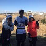 2018/2/12 UP RUN 新横浜鶴見川ウィンターマラソン