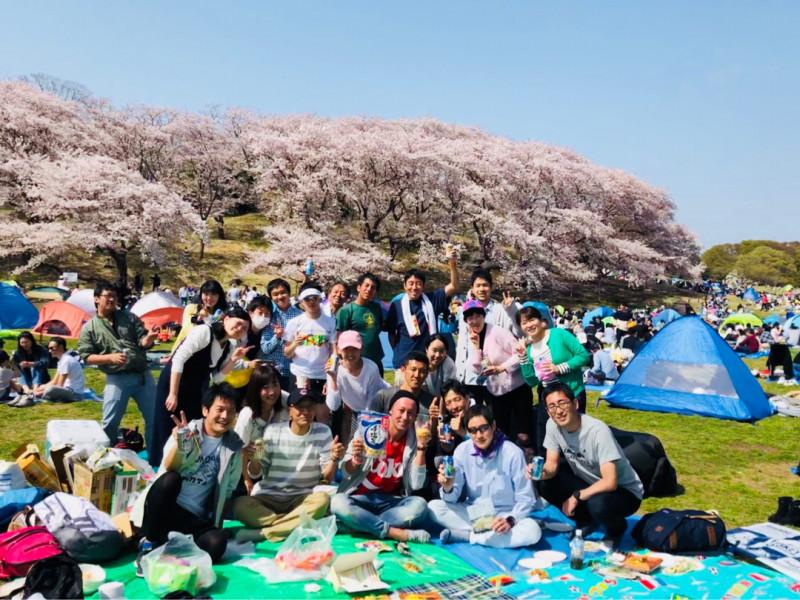 2018/4/1 根岸森林公園花見ラン